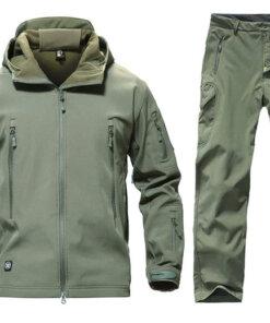 Ensemble pantalon et veste – Army green Equipements