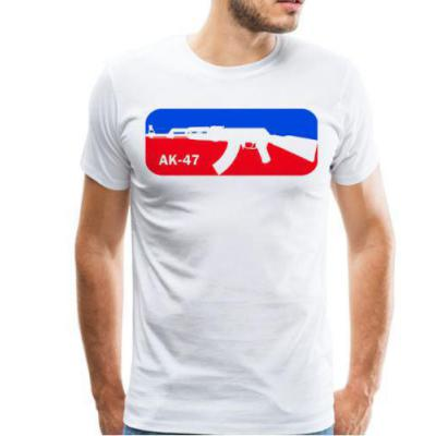 Tee-shirt - AK 47 - France - BlackOpe