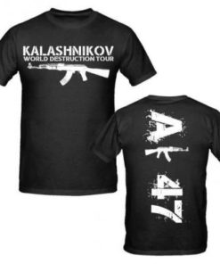 Tee-shirt - AK47 mod 9 - BlackOpe