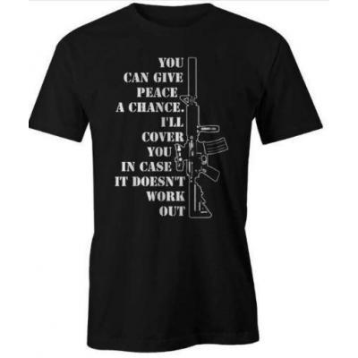 Tee-shirt - AR15 - Noir - BlackOpe