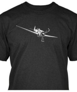 Tee-shirt - Avion - Seconde guerre Mondial - Focke Wulf - BlackOpe