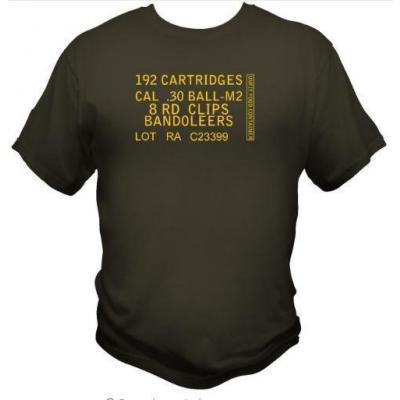 Tee-shirt - caisse munition .30 m2 - BlackOpe