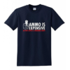 Tee-shirt – Ammo is expansive – Bleu marine Equipements