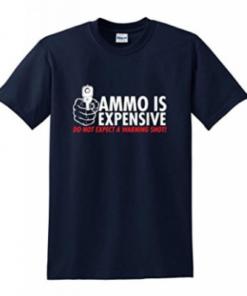 Tee-shirt - Ammo is expansive - Bleu marine - BlackOpe