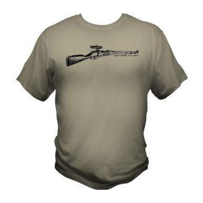 Tee-shirt - Mosin Nagant - mod 2 - BlackOpe