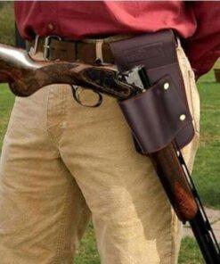 Holster en cuir fusil de chasse – Turbon Housse de fusil