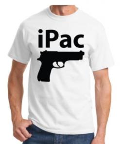 Tee-shirt iPac - White & Black - BlackOpe