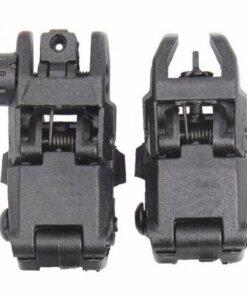 Organes de visée rabattables pour rail Picatinny / Weaver Mod1.1 rail 20mm Noir Optiques & Montages