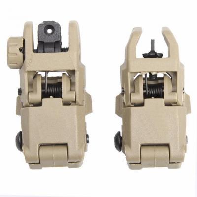 Organes de visée rabattables pour rail Picatinny / Weaver Mod1.1 rail 20mm Sable Optiques & Montages