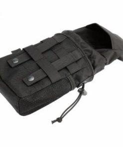 Dump pouch – Sacoche Porte chargeur armes longue Tactique- Molle – mod4 – Noir Porte chargeur
