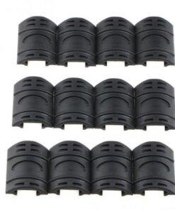 Protection et couvre Rails Picatinny / weaver 12 pièces NOIR Montages Optiques