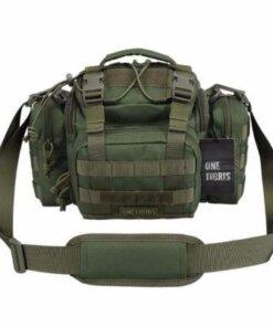 Sac Molle Militaire Tactique - Sac de Tir - Vert - mod2.1 - BlackOpe