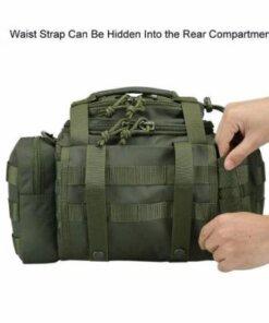 Sac Molle Militaire Tactique – Sac de Tir – Vert – mod2.1 Bagagerie