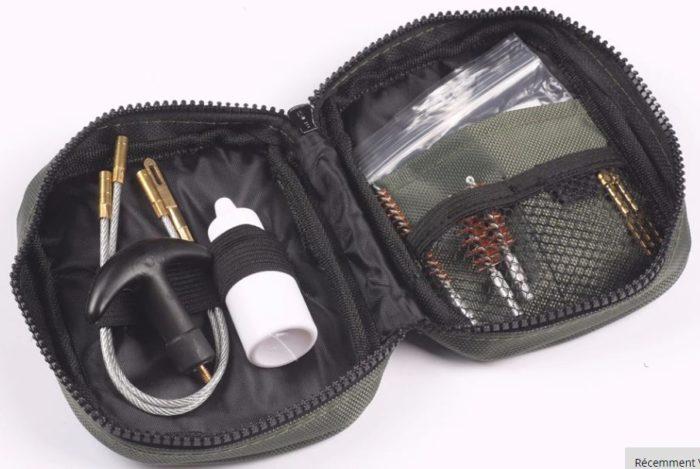 Kit de nettoyage universel multi-calibre .22 38 9mm Accessoires