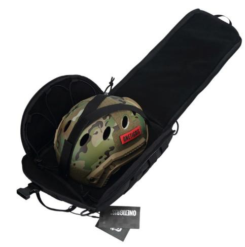Casque tactique - Airsoft - Onetigris - mod11 - SAC pour transport du casque - BlackOpe