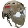 Casque tactique - Airsoft - Onetigris - mod15 - Tan - BlackOpe