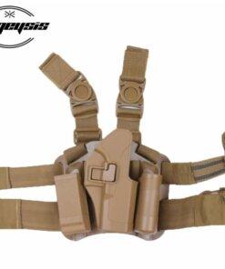 Holster de jambes – Glock – TAN Accessoires Armes
