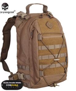Sac à dos – Tactique Militaire – EG – mod6 – Coyote brown 500D Bagagerie