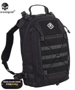Sac à dos – Tactique Militaire – EG – mod6 – Black 500D Bagagerie
