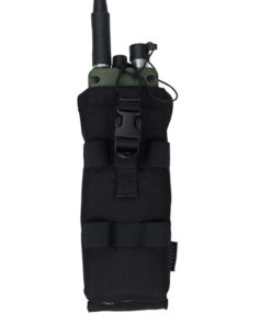 Sacoche pour radio – Tactique Militaire – EG – Black Bagagerie
