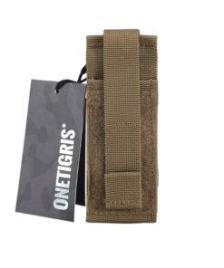 Sacoche pour kit urgence – Onetigris – Cizeau – tan Divers
