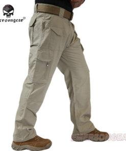 Pantalon – Militaire Tactique – EG – mod12 – Khaki Pantalons