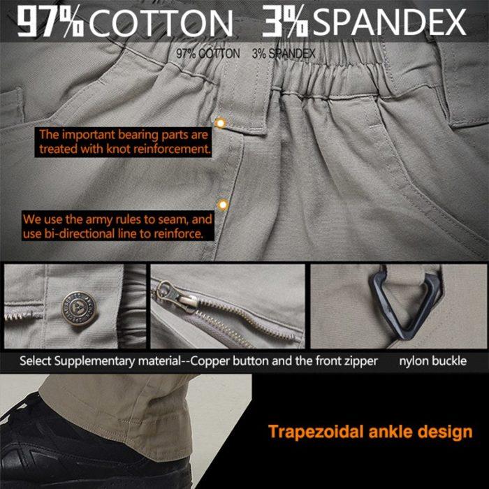 Pantalon – Militaire Tactique – EG – mod3 – Grey Pantalons