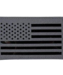 Patch & Ecusson – Militaire – EG – Drapeau Américain – mod 2 – Wolf Grey Écussons & patchs