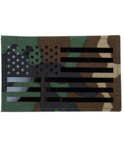 Patch & Ecusson – Militaire – EG – Drapeau Américain – mod 2 – Woodland Écussons & patchs