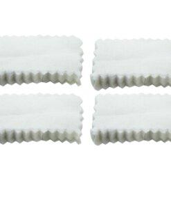 100 Patch de nettoyage 3X1.5 pouces Entretien armes