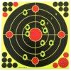 10 Cibles autocollante réactive – Multipoint – 12pouces Ciblerie