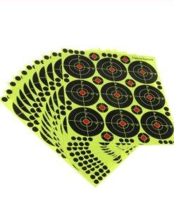 10 Planchette Cibles autocollante – diam 8cm Cibles Autocollante