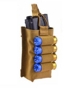 Porte chargeur fusil d'assault – Cartouchière Cal12 – Beige mod3 Porte chargeur
