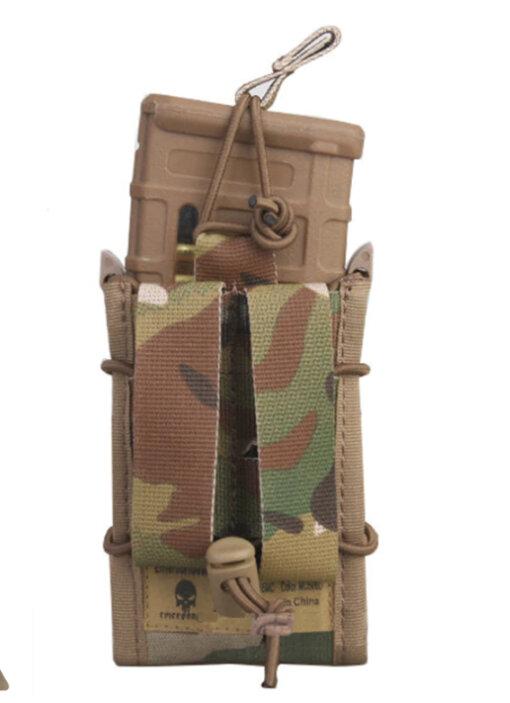 Porte Chargeur – Tactique Militaire – EG – mod23 – Multicam 500D Porte chargeur