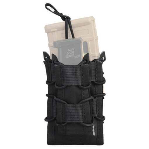 Porte Chargeur – Tactique Militaire – EG – mod27 – Black Porte chargeur