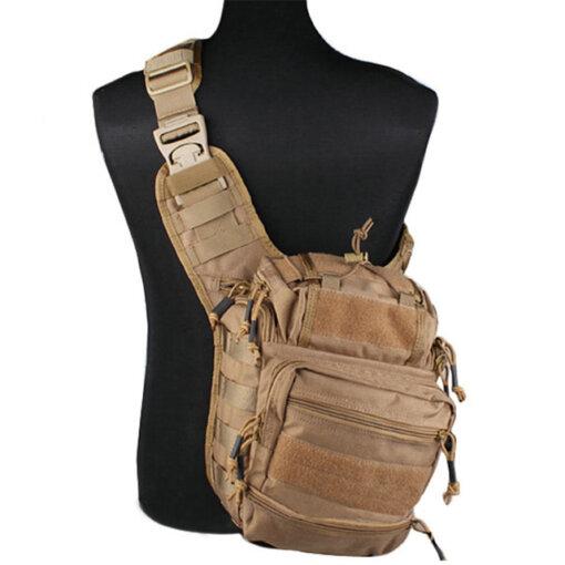 Sacoche Bandoulière – Tactique Militaire – EG – mod4 – Coyote brown Bagagerie