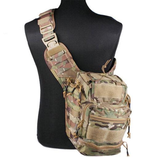 Sacoche Bandoulière – Tactique Militaire – EG – mod4 – Multicam Bagagerie