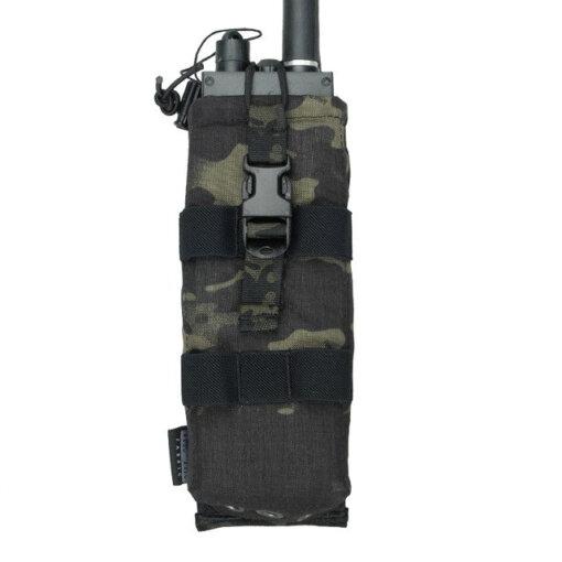 Sacoche pour radio – Tactique Militaire – EG – Multicam black Bagagerie