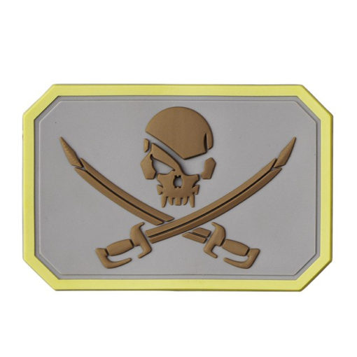 Patch & Ecusson – Militaire – EG – Pirate – N1 Écussons & patchs