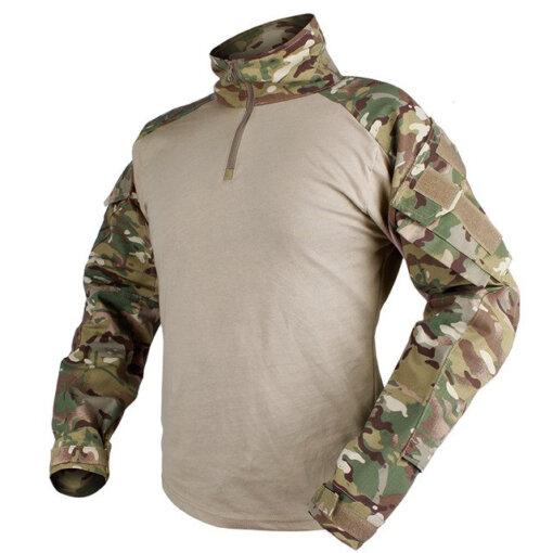 Tee-shirt – Militaire Tactique – EG – mod2 – Multicam Tee-shirt Tactique