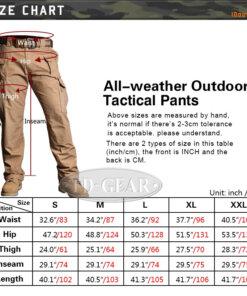 Pantalon – Militaire Tactique – EG – mod12 – Black Pantalons