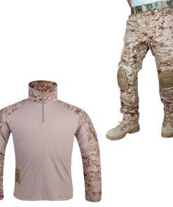 Tenue de combat – Tactique Militaire – EG – mod1 – AOR1 Old Tenue de Combat