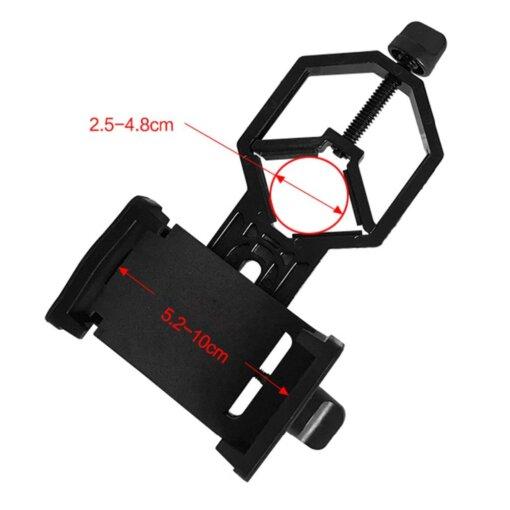 Longue-vue 20-60X60 avec adaptateur de Téléphone Monoculaire & Longue Vue