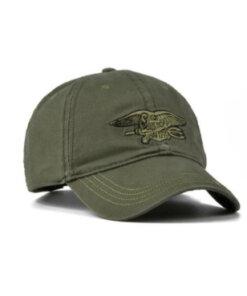 Casquette militaire / VERT Casquettes & Chapeaux
