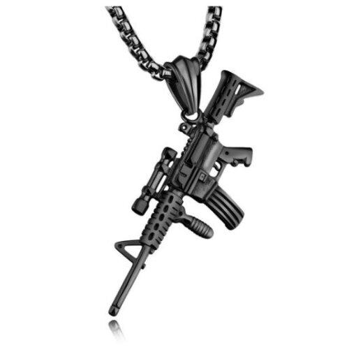 Collier M4 – Black Cadeaux