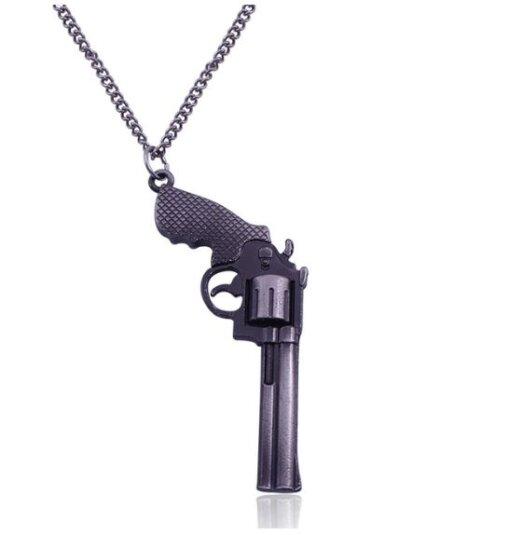 Collier Arme – Revolver Cadeaux