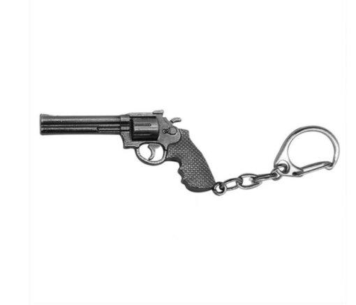 Porte clé arme – Revolver Cadeaux