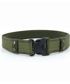 Ceinture Militaire – Army green Bas vêtements