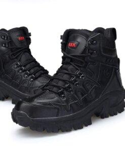 Chaussure Rangers – Delta – Black Bas vêtements