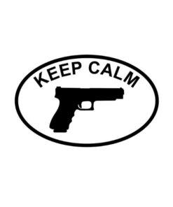 Stickers keep calm – Noir Divers